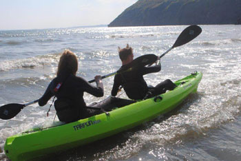 pendine kayak hire