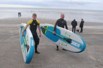 pendine paddle board hire
